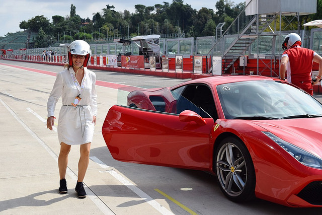 Mit dem Ferrari 488 in Imola: la prima volta in pista
