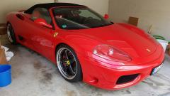 Mein Heiligsblechle - Ferrari 360 Spider