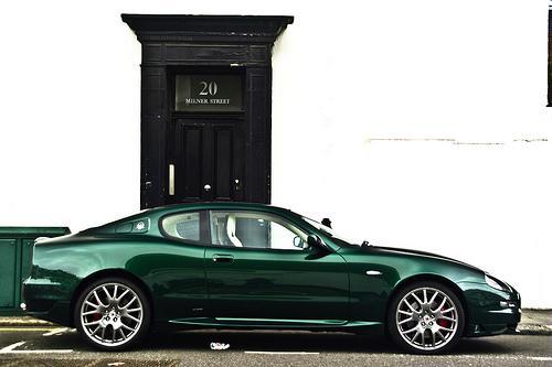 Ein (grüner) Maserati zum Preis eines VW Golf - ein Selbstversuch