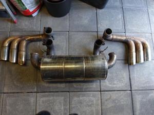 6-Rohr Auspuff Ferrari 360 Sportauspuff 6-Rohr