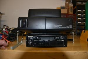 Kassettenradion mit CD-Wechsler, 90er Jahre