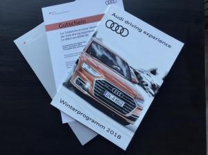 Audi driving experience GUTSCHEIN
