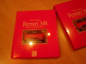 Ferrari 348 Buch Werner Schruf