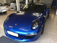 Porsche 997 GTS blau