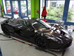 La Ferrari Aperta Spider Uni-schwarz