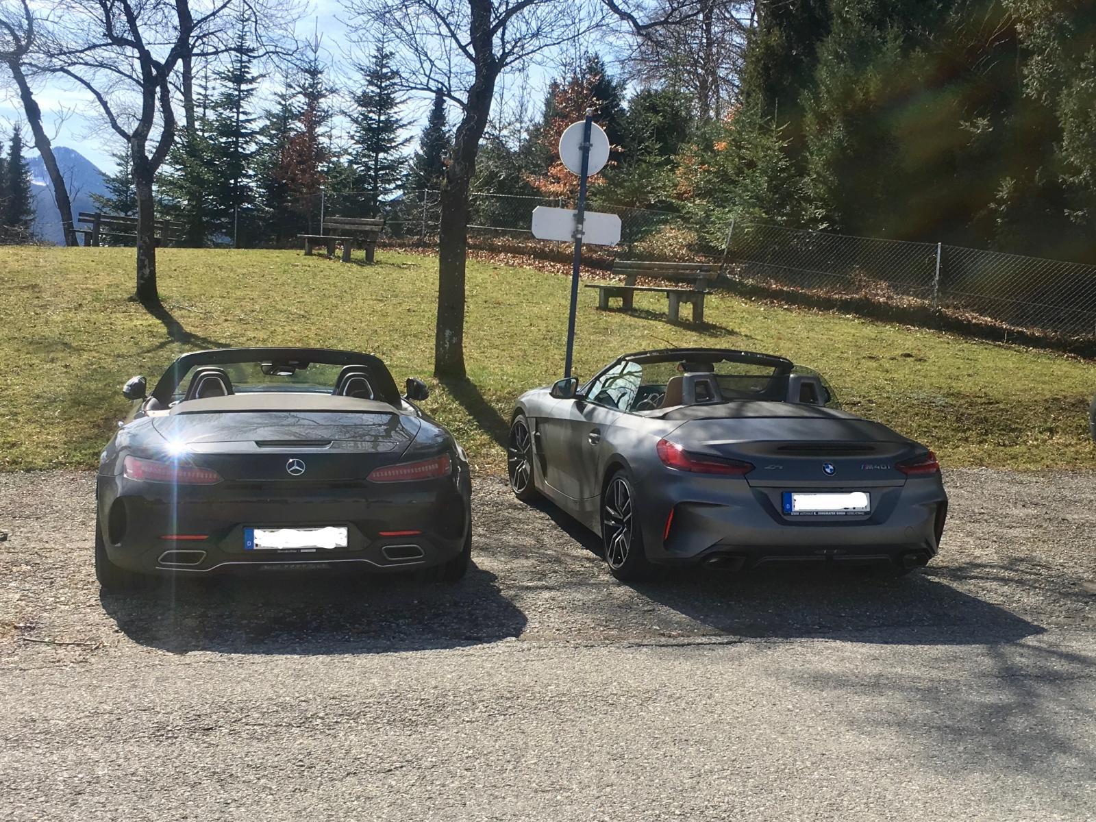 BMW Z4 G29 M40i & AMG GT-C Roadster