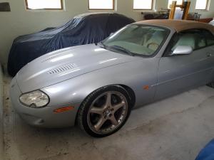 2000 JAGUAR XKR Cabrio - 1. Hand