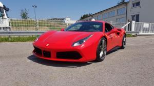 2018 Ferrari 488 GTB rosso scuderia 7900 km