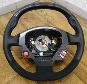 Original Ferrari F430 Carbon LED Lenkrad 430 Scuderia 16M Steering Wheel OEM