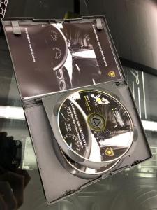 orig. Lamborghini Gallardo Navigations CD / DVD mit Hülle (Europa)