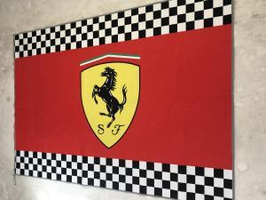 Ferrari Teppich Vorleger