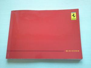 Ferrari Radio Bedienungsanleitung für Type 4377