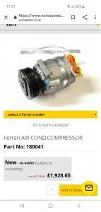 360 Modena Klimakompressor