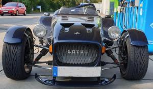 Lotus Super 7 Speedster-Scheibe + Instrumentenkasten Rush Gorgus VM