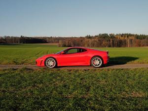 Ferrari F430 F1 *rosso scuderia, Überrollbügel, Sportsitze*