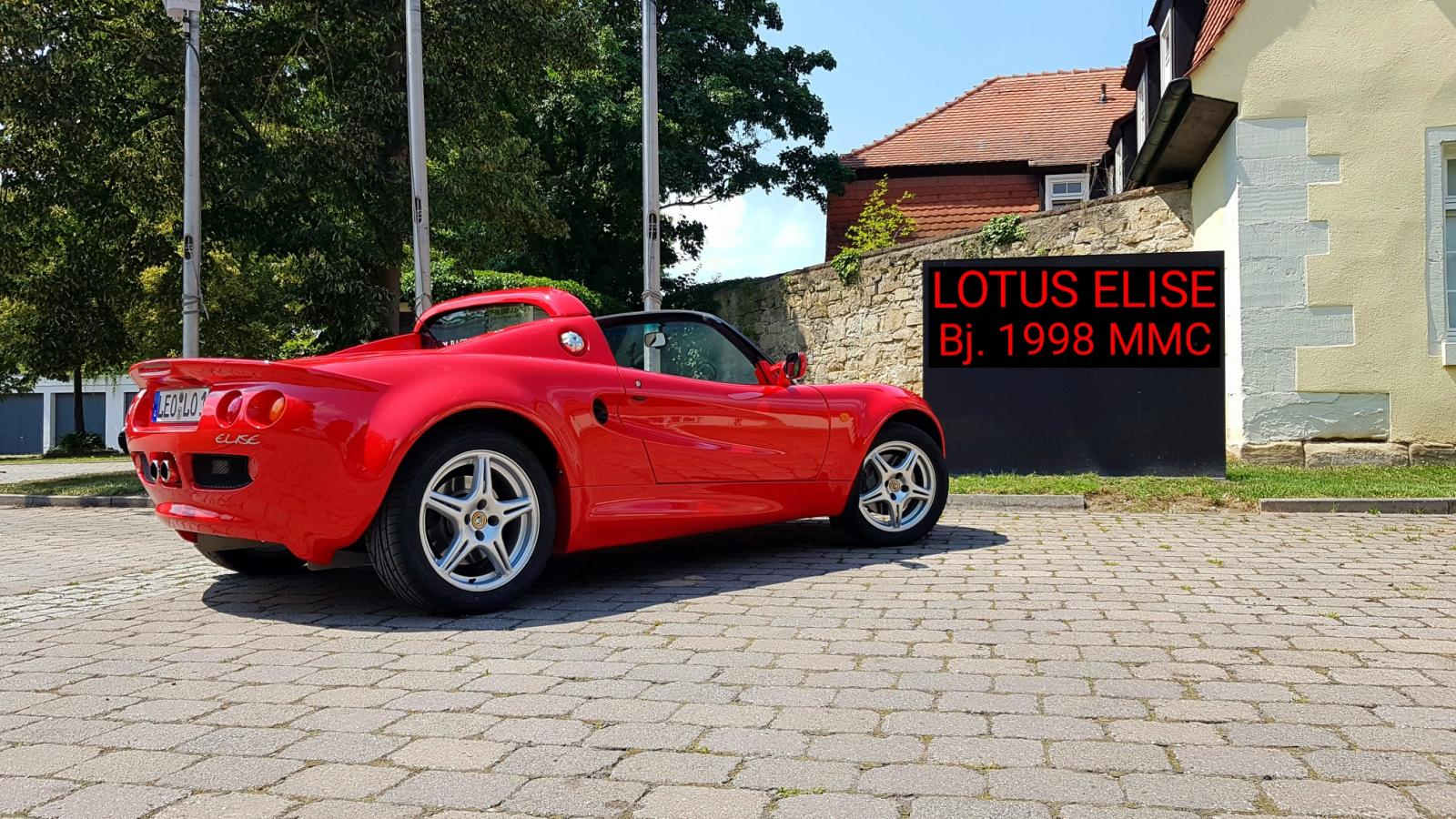 Lotus Elise MK1 Bj. 1998