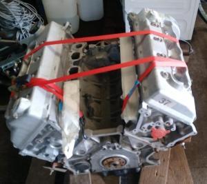 SVT 4,6 Liter 4V Mustang Cobra Motor von 1999 mit 320 hp
