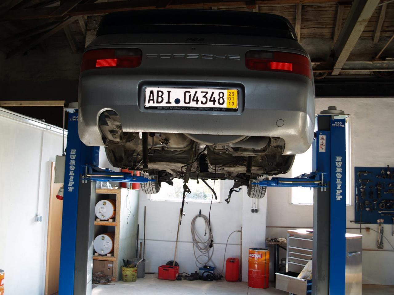 Garage von ingo k th 968 leichtbau 968 for Garage auto quad passion